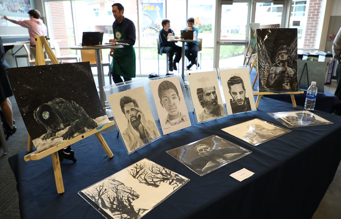 Student Creativity Showcased at Annual Art Walk