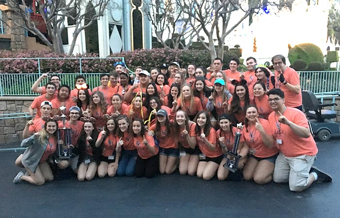 High School Choir Receives First Place at Music in the Parks Choir Festival in Disneyland
