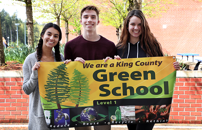 Eastside Catholic Named Level One King County Green School