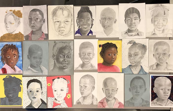 Art Students Creatively Give Back to Haiti