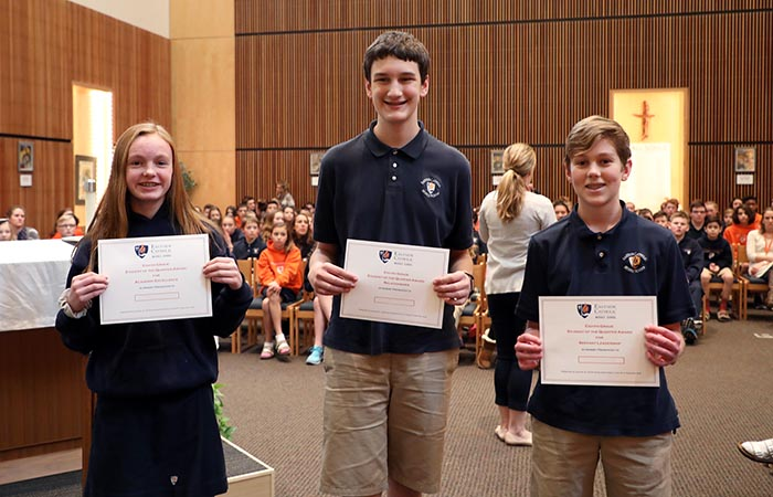 Middle School Second Quarter Touchstone Awards