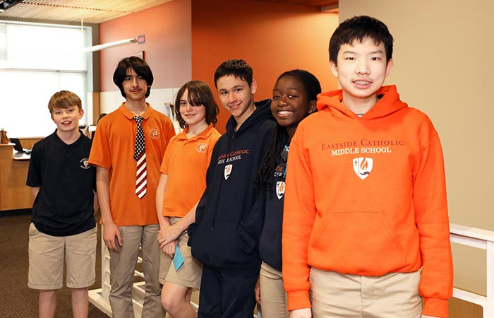 Middle School Math Teams Shine at Math Is Cool Regional Competition