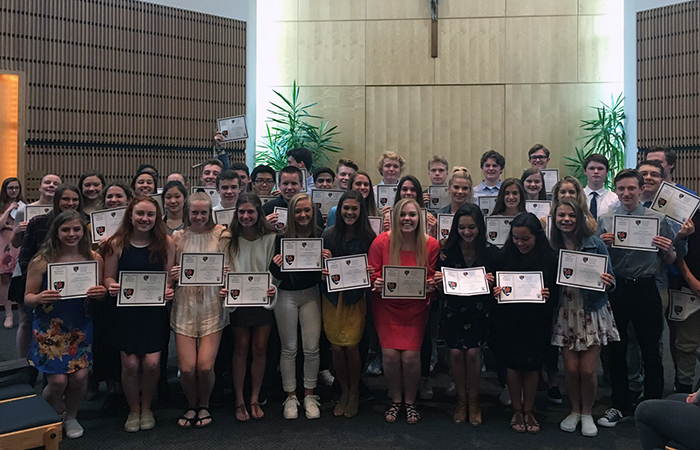 Honor Societies New Inductees