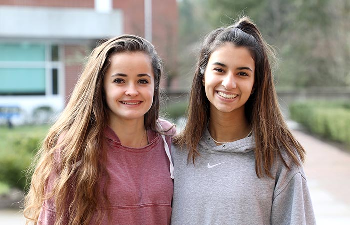 Two Seniors Named National Merit Scholarship Finalists