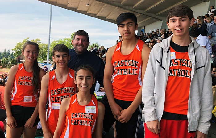 Middle School Students Represent at CYO Championship