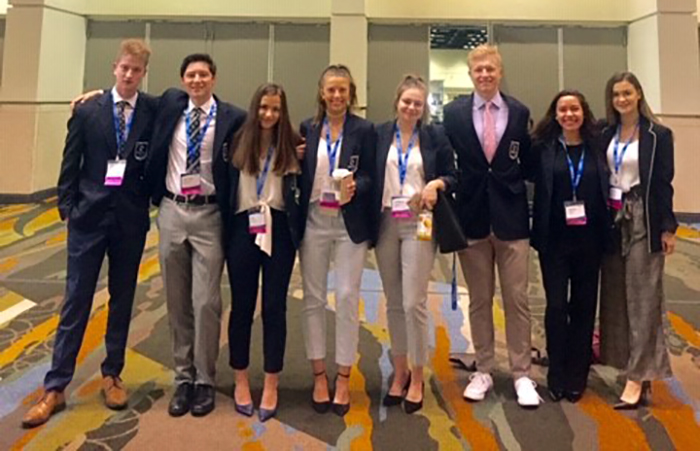 DECA Students Compete at the International Career Development Conference