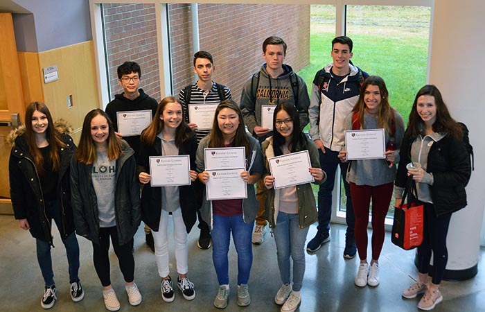 November/December Students of the Month