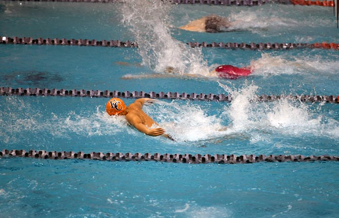 Varsity Boys Swim Makes EC History