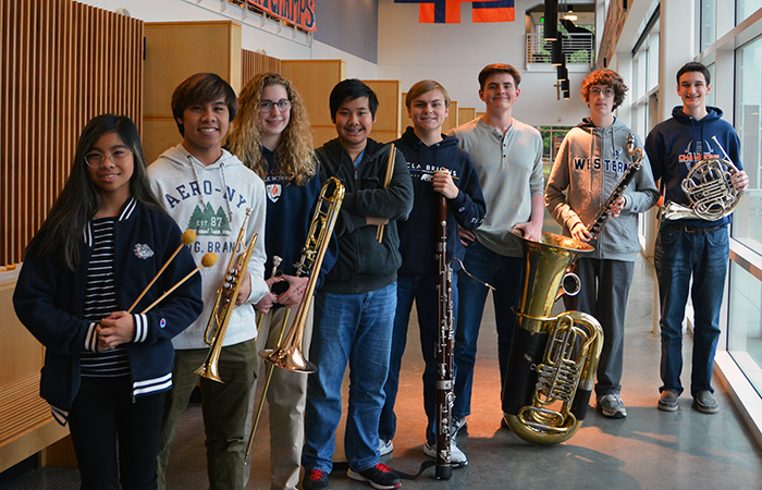 Students Selected to All-State Band and Choir