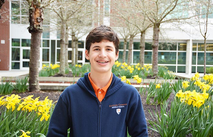 EC Student Qualifies for National Geographic State GeoBee Competition