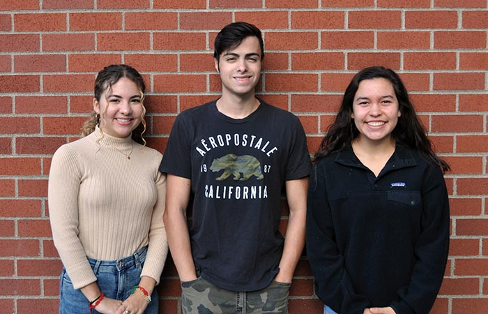Three Students Honored in National Hispanic Recognition Program