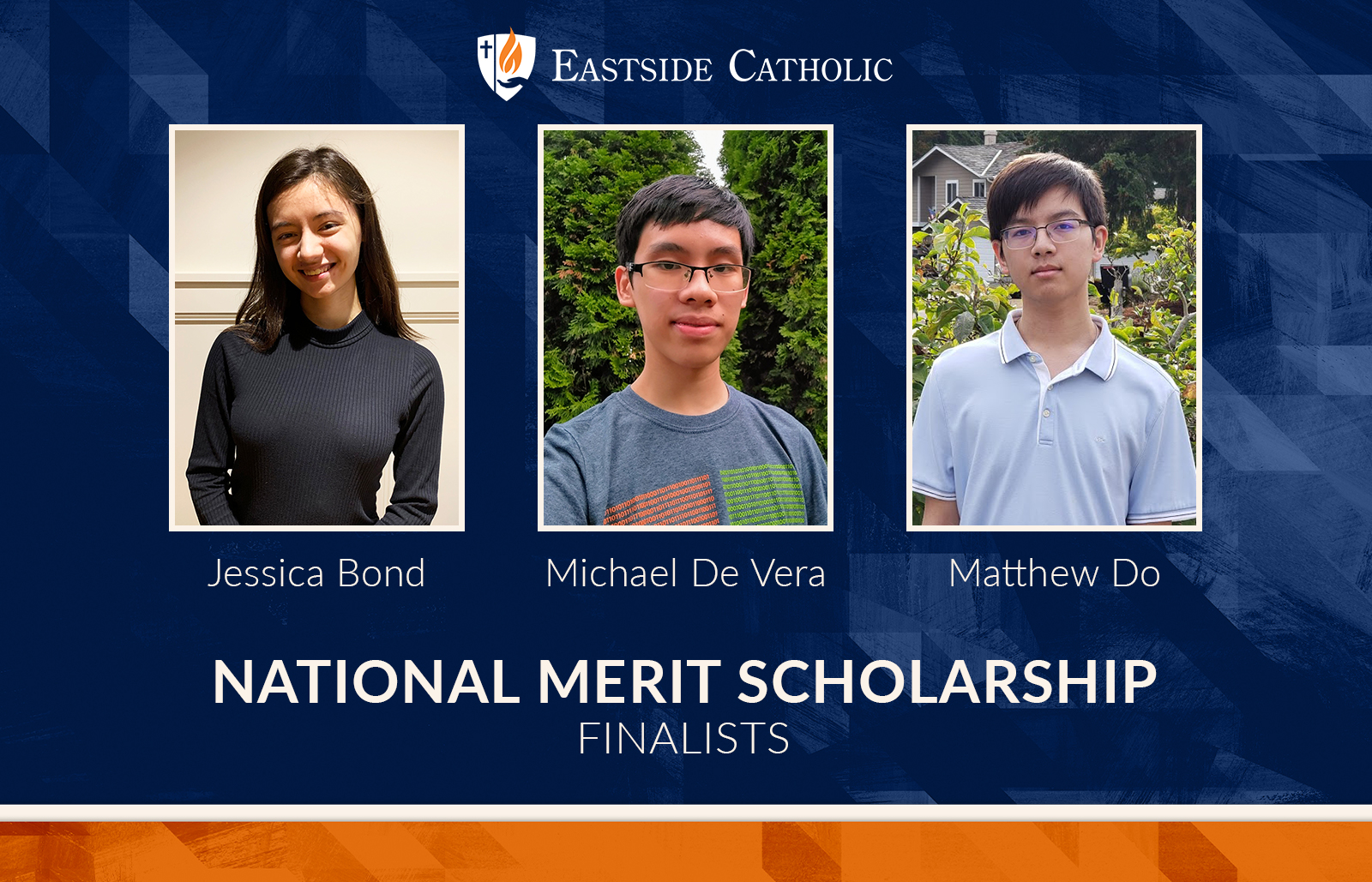 Class of 2021 National Merit Scholarship Finalists
